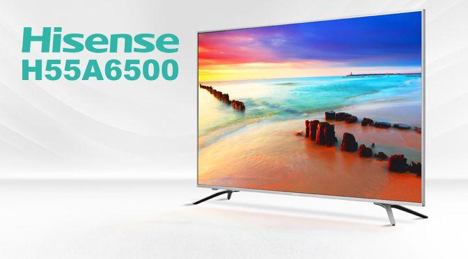 Hardwaretest: Hisense H55A6500 – preisgünstig, aber nicht billig