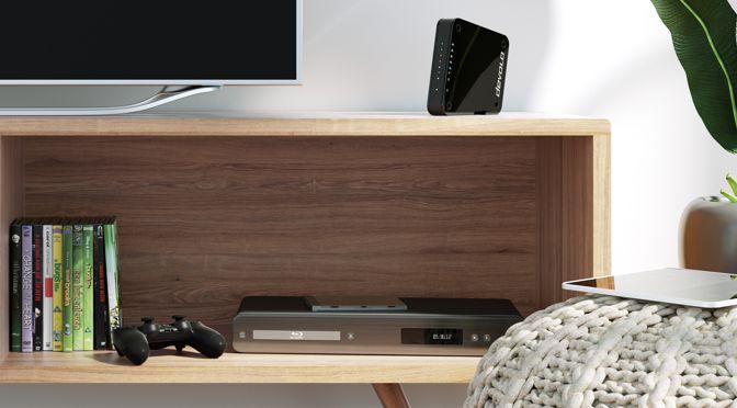 devolo Access Point One für ultraschnelles Home Entertainment