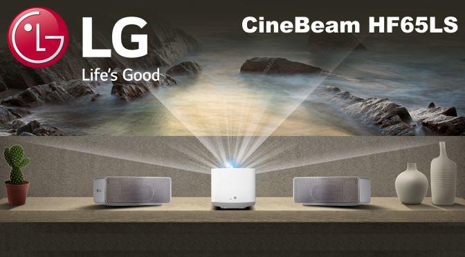 Hardwaretest: LG CineBeam HF65LS – Kino-Format für das Wohnzimmer