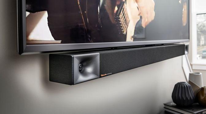 Klipsch BAR 40, BAR 48 und SURROUND 3: satter Klipsch Sound bei Film und Musik