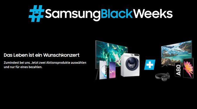 Samsung Black Weeks - bis zu 699,- Euro sparen