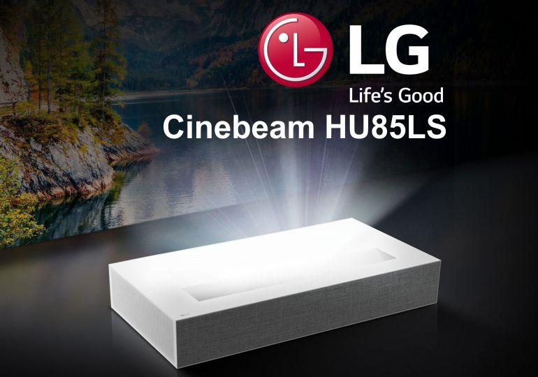 Hardwaretest: LG CineBeam HU85LS – perfektes 4K Heimkino