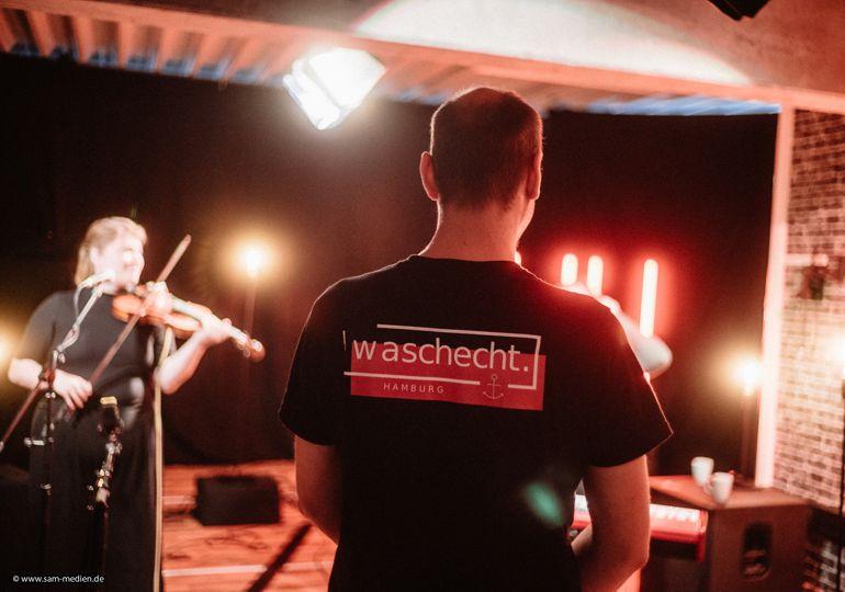 waschecht Hamburg: Hamburger Künstler live erleben und unterstützen - jeden Sonntag im Web