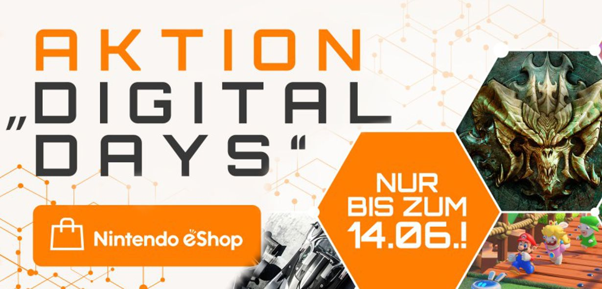 """Nintendo eShop-Angebotsaktion: """"Digital Days""""-Aktion 2020"""