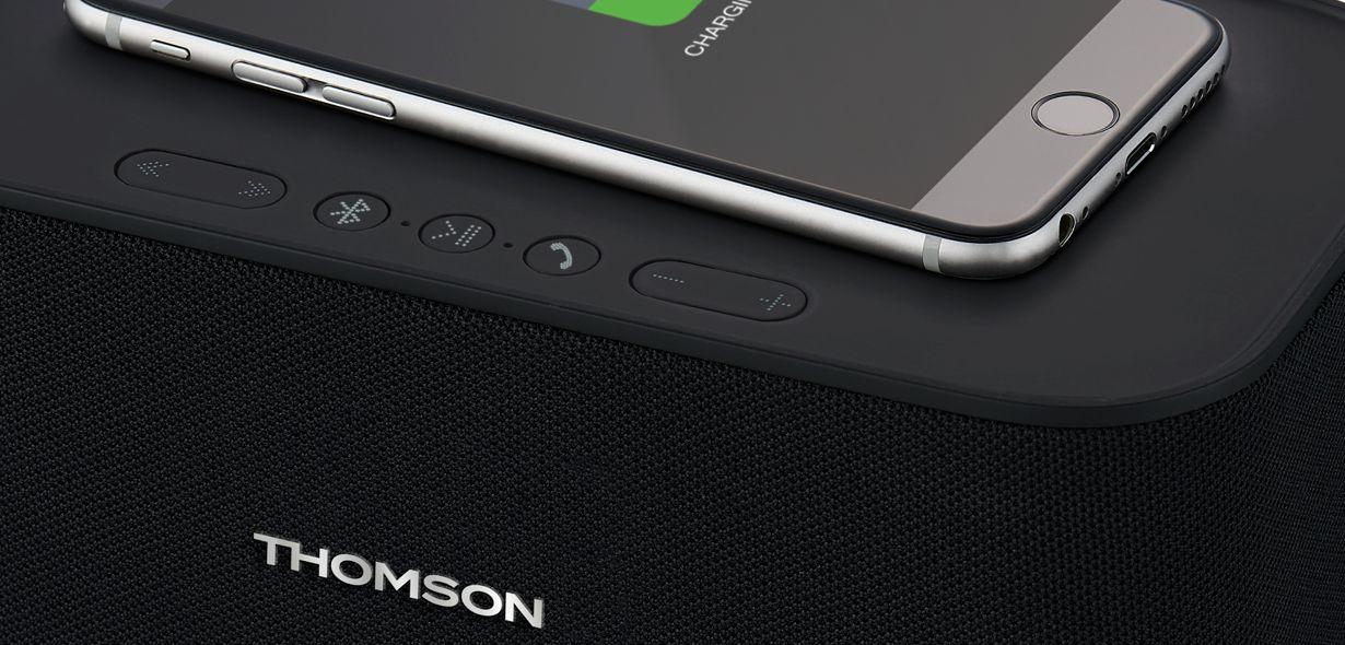 Auch für unterwegs: Thomson WS06IPB - Musik zum Feiern!