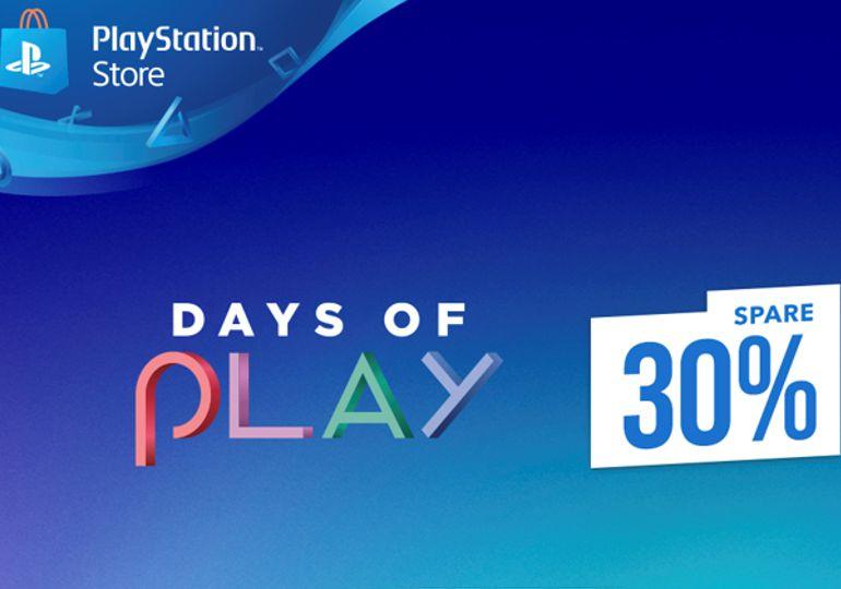 Sonderangebote der Days of Play ab sofort auch im PlayStation Store