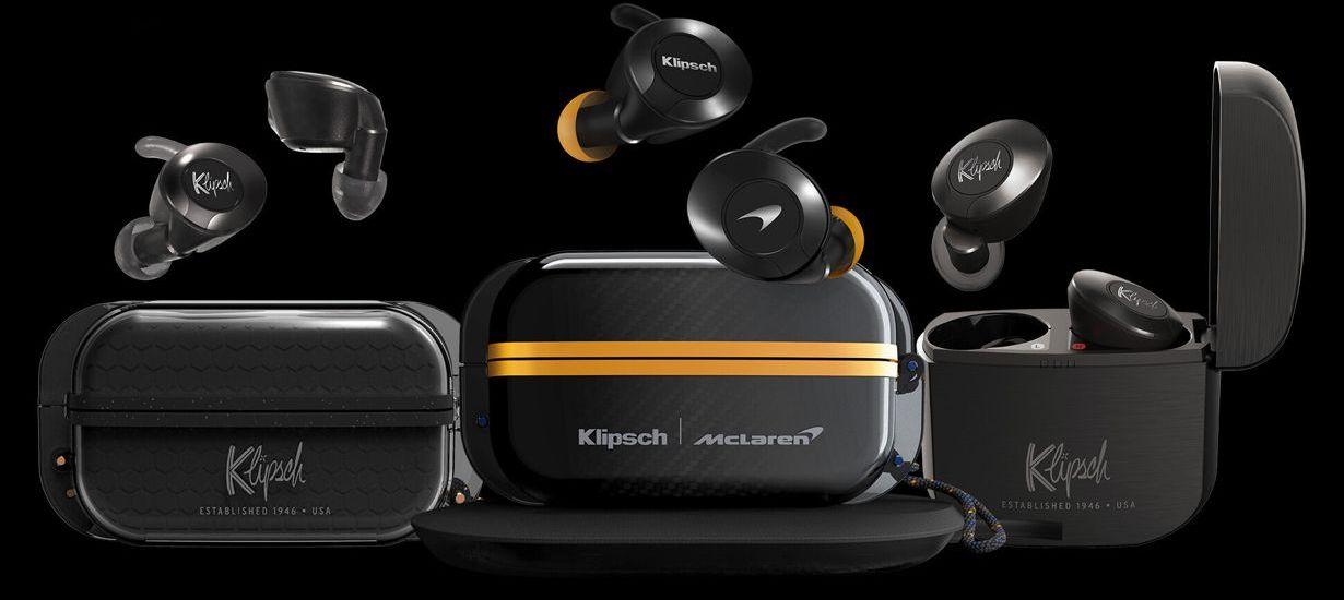 mobiler Klanggenuss mit Rennsportgenen - die Klipsch T5 II True Wireless McLaren Edition