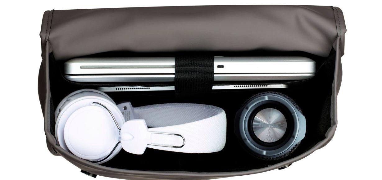 Klare Linien und praktische Features: Designer-Rucksack für Notebooks