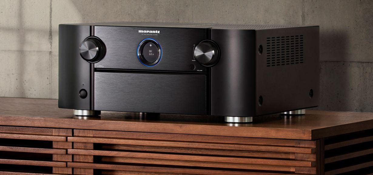 Neuer Marantz 8K Ultra-HD AV-Surround-Vorverstärker: AV7706