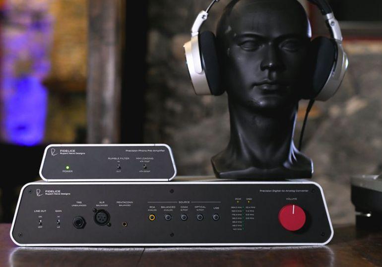 Rupert Neve Designs Fidelice: High-End-Klang von der Tonstudio-Legende für audiophile Musikgenießer