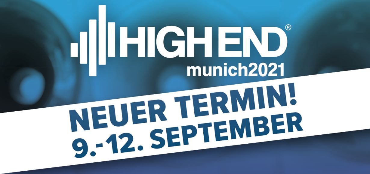 HIGH END 2021 zieht vom Mai in den September um
