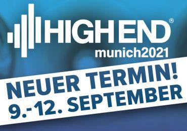 HIGH END 2021 zieht vom Mai in den September um