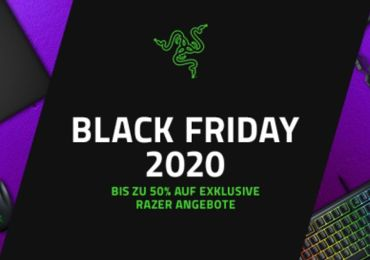 BLACK FRIDAY STARTET MIT GROßARTIGEN RAZER DEALS