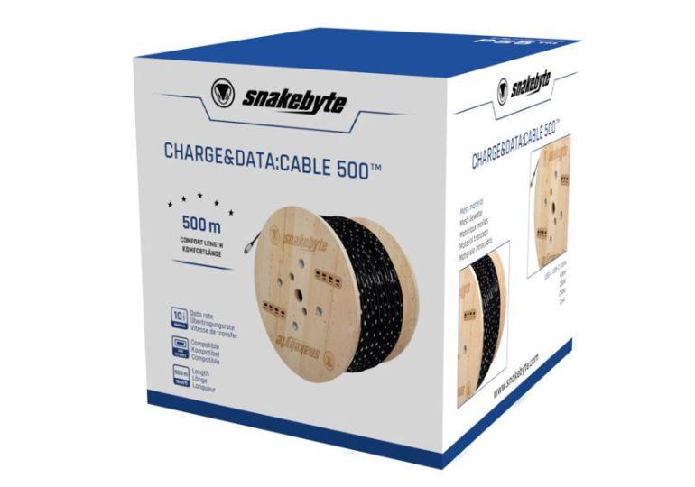 snakebyte | GROUP stellt sagenhaftes 500m PS5 USB-Kabel vor
