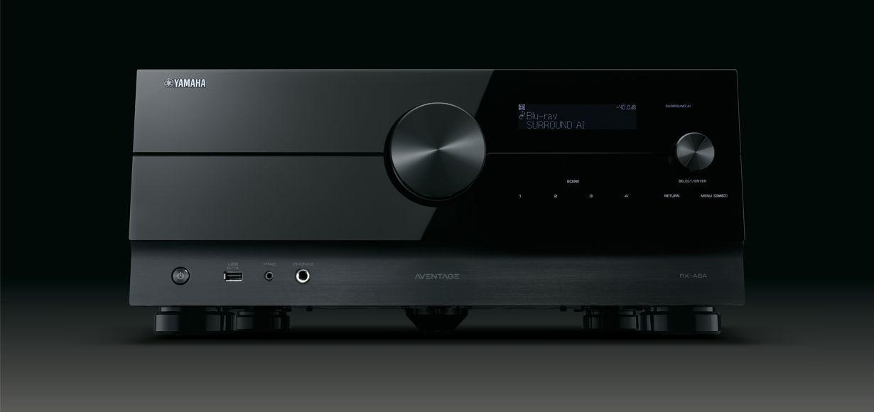 Yamaha AVENTAGE RX-A8A: Schaltzentrale für High-End-Heimkino und Gaming