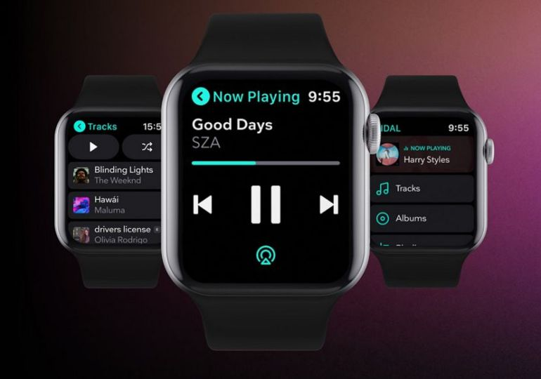TIDAL veröffentlicht Apple Watch-App mit Offline-Funktion