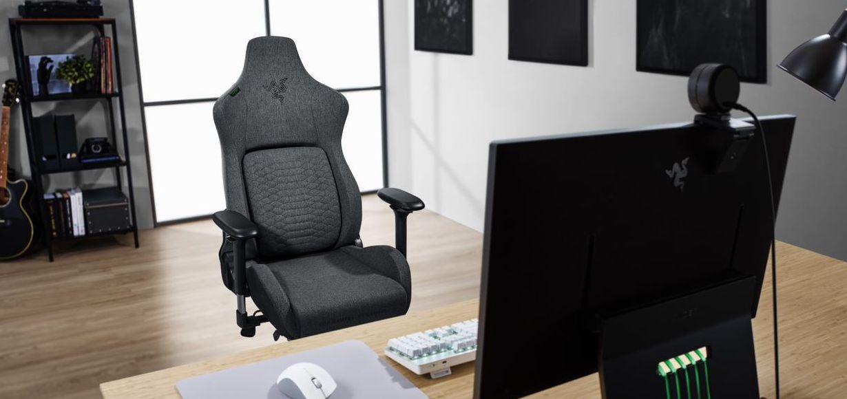 Razer veröffentlicht Iskur Gaming-Stuhl mit Stoffmaterial