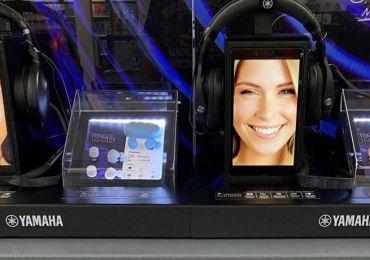 Yamaha zeigt das aktuelle Kopfhörer Line-up auf besondere Art: innovative PoS-Displays für den stationären Handel