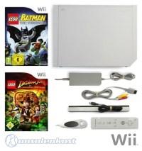 Wii MegaSet console white incl LEGO Indiana Jones, LEGO ...