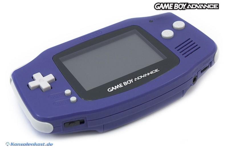 GameBoy Advance Console Purple Purple Used