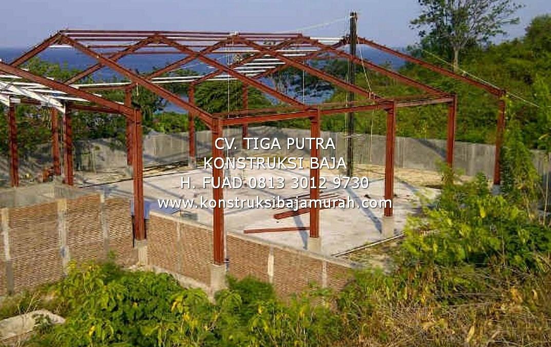 Konstruksi Baja WF Murah Berkualitas | Berpengalaman & Terpercaya | H. YAYAR FUAD 0813 3012 9730