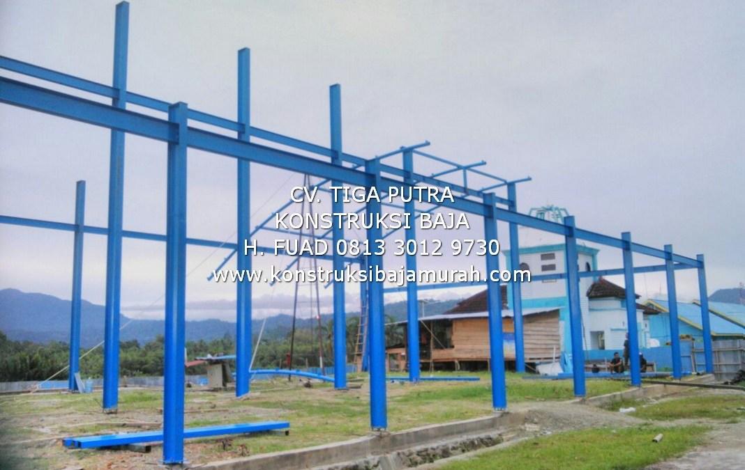 Spesialis Konstruksi Baja Ringan | Pabrik | Gudang | Infrastruktur | Lapangan Futsal