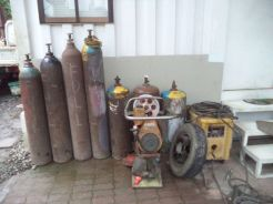 Tanks, Welding Machines and Tamper Rammers
