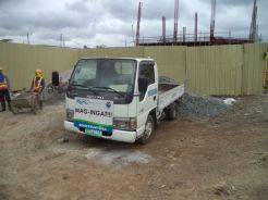 Truck on Site