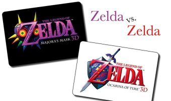 The Legend of Zelda: Ocarina of Time 3D oder The Legend of Zelda: Majora's Mask 3D
