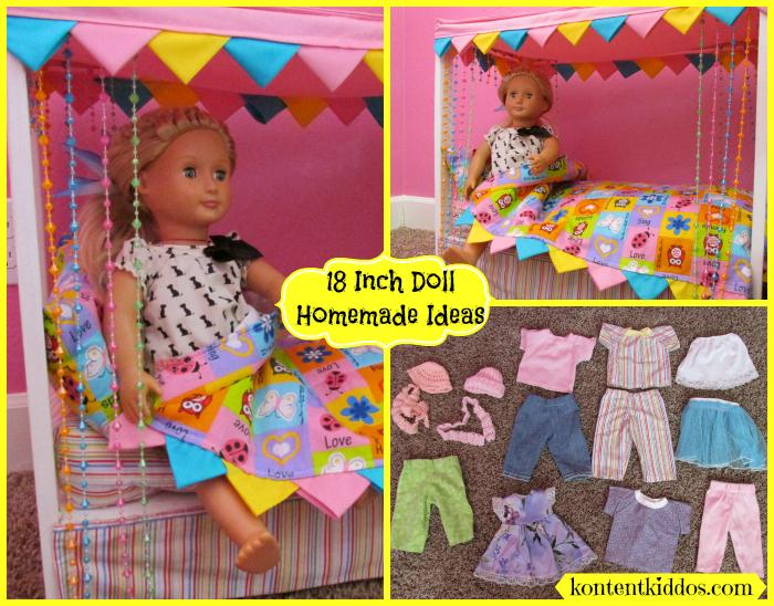 18 inch doll homemade ideas