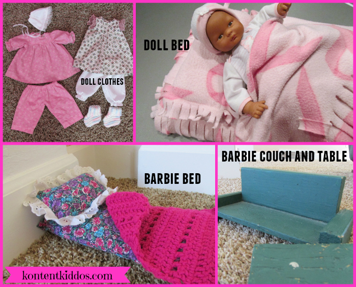 Homemade doll accessories