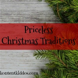 Priceless Christmas Traditions