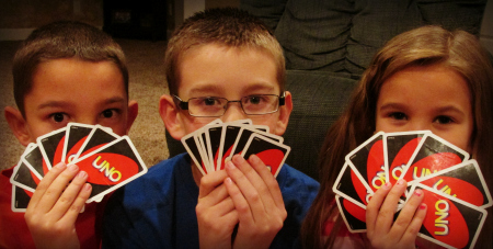 card commotion kids