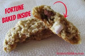 fortune baked inside