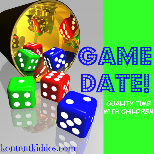 game date--making quality time for children