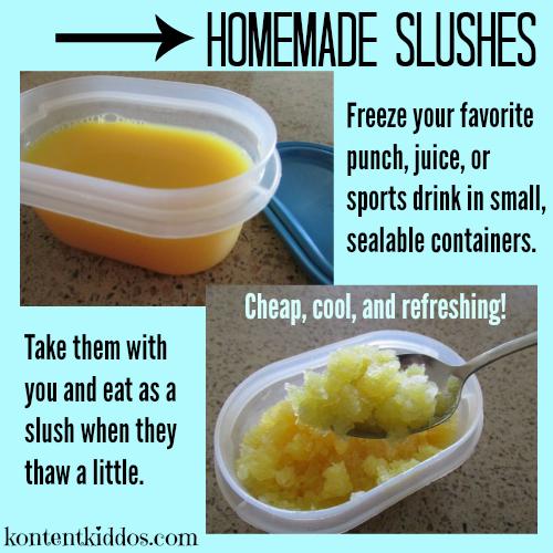 homemade slush