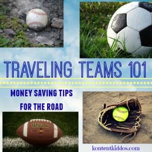 Traveling Teams 101- Money Saving Tips