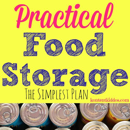 Food Storage