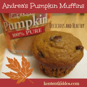 Andrea's Pumpkin Muffins