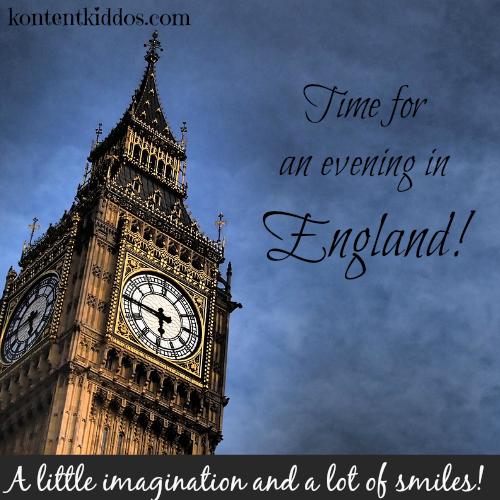 A Pretend Trip to England