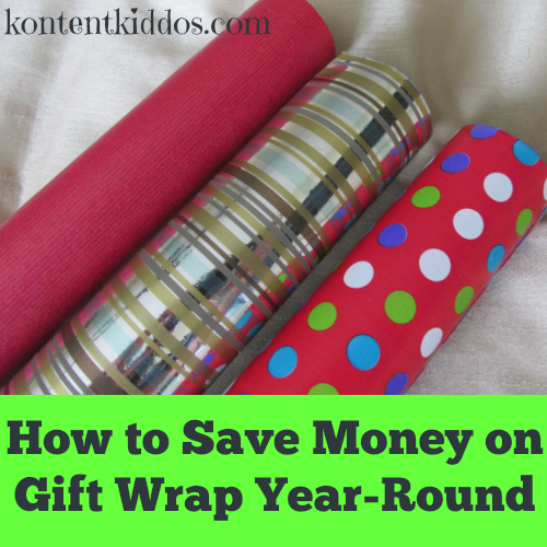 Gift Wrap Savings Year-Round