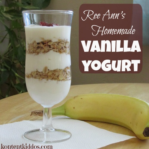 Homemade Vanilla Yogurt