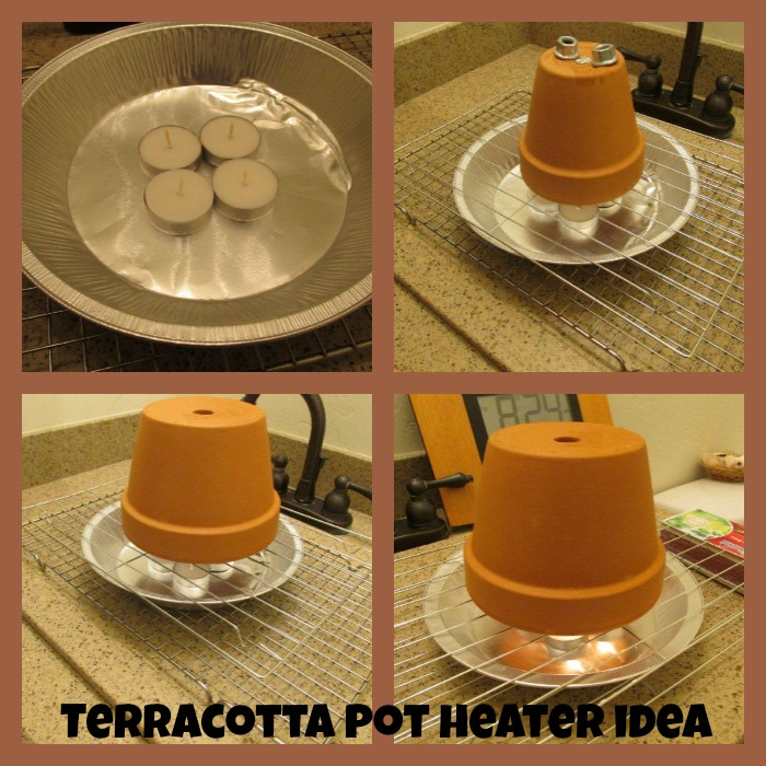 terracotta pot heater idea