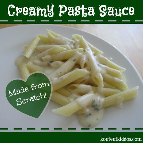 Creamy Pasta Sauce