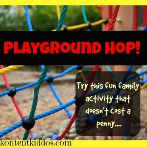 Playground Hop! –A Family Activity