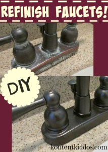 Refinish Faucets