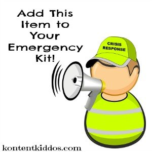 Add This Item to Your 72 Hour Emergency Kit!