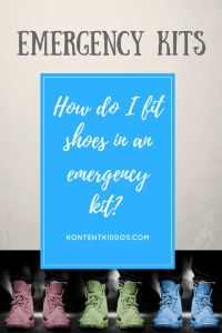 Emergency Kit – Shoes!