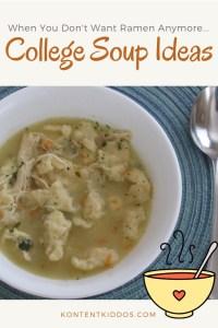 College Soup Ideas