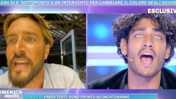 "Alex Belli e Akash litigano in diretta, l'ex naufrago minaccia di andarsene: ""Me ne vado"" (VIDEO)"